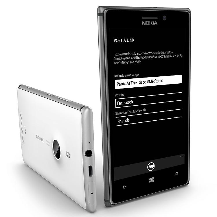 Nokia MixRadio Share
