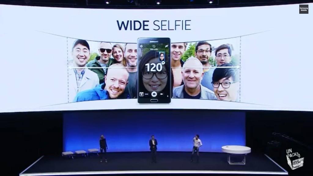 Samsung Unpacked - Wide Selfie