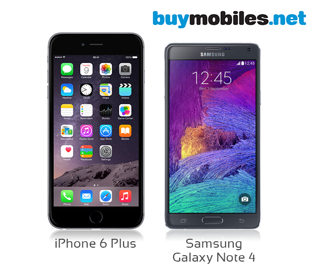 official photos 36f69 99839 Big-Screen Battle - iPhone 6 Plus vs Samsung Galaxy Note 4
