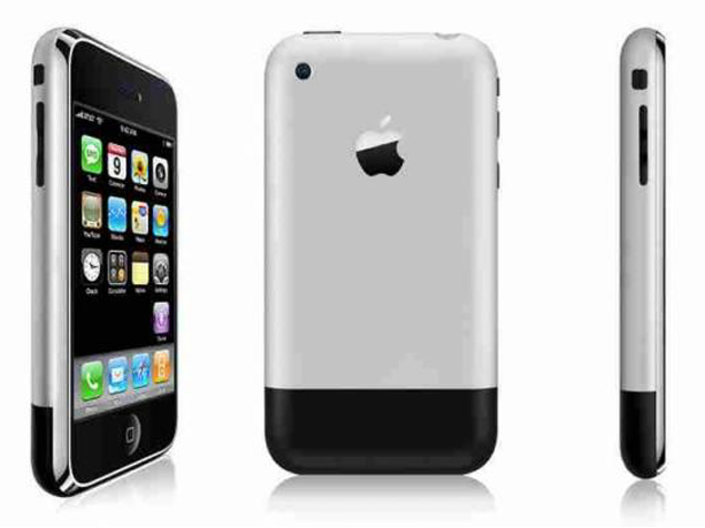 Most iconic mobile phones - iPhone-1st-Generation