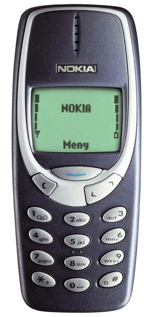 iconic mobile phones - nokia-3310