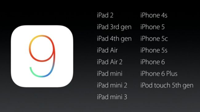 iOS 9 compatibility