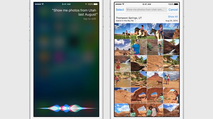 Siri Photo Library