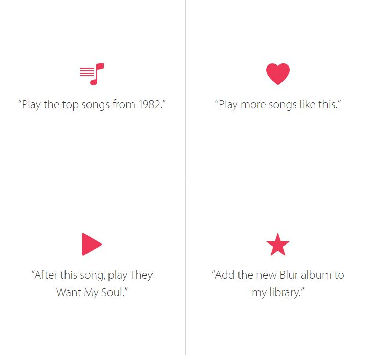 Apple Music Siri