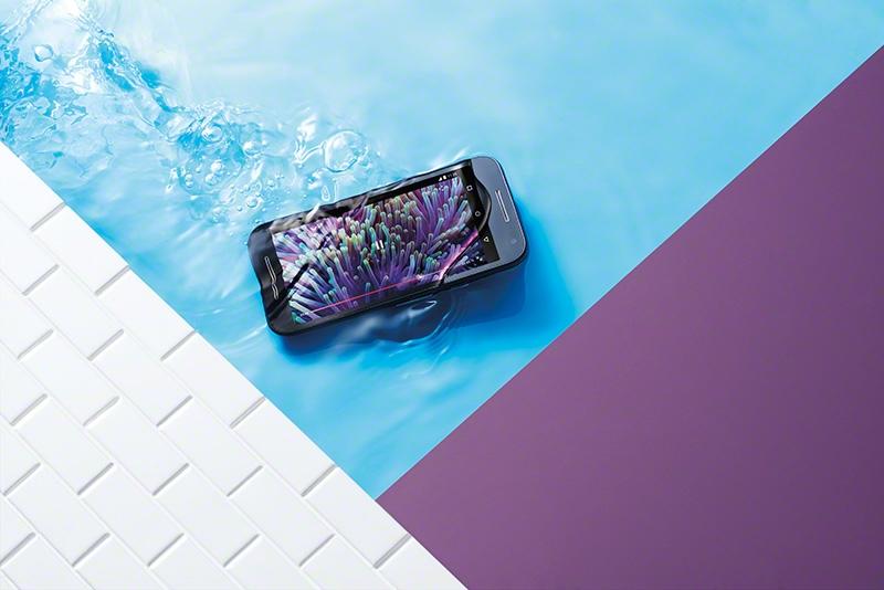 """<img src=https://a1comms-blog-buymobiles.storage.googleapis.com/2015/08/Moto_G_Black_Front_Underwater.jpg alt=""""Motorola Moto G (3rd Gen) is water-resistant""""/>"""