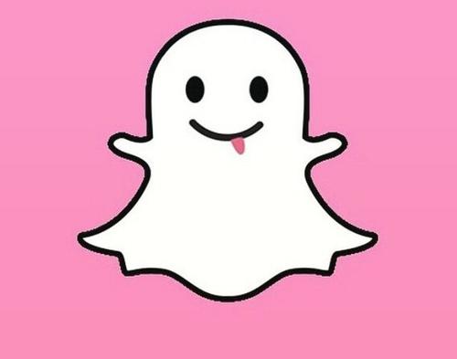 Snapchat Pink Logo