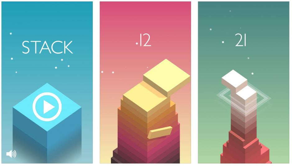 Stack game app