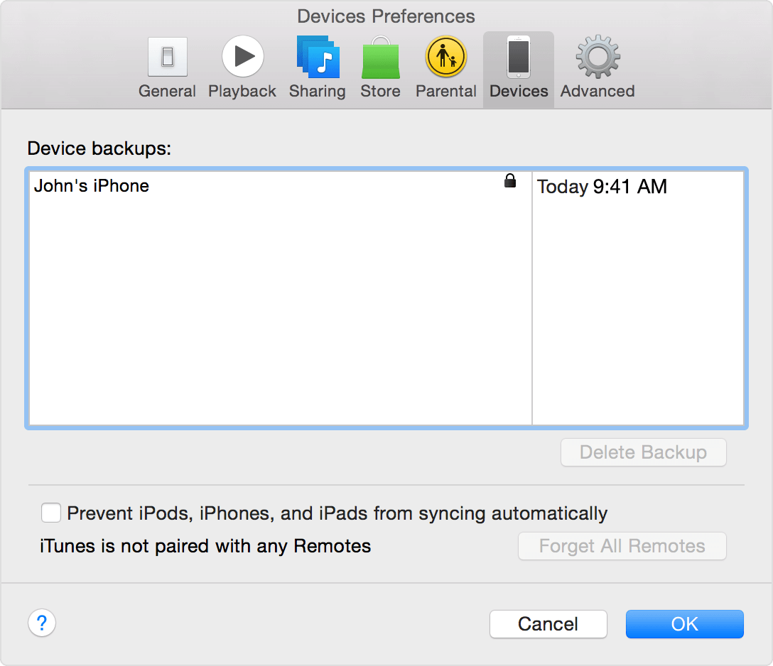 itunes-yosemite-device-preferences