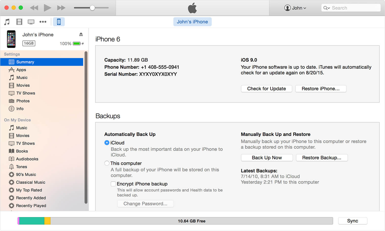 itunes-yosemite-encrypt-iphone-backup