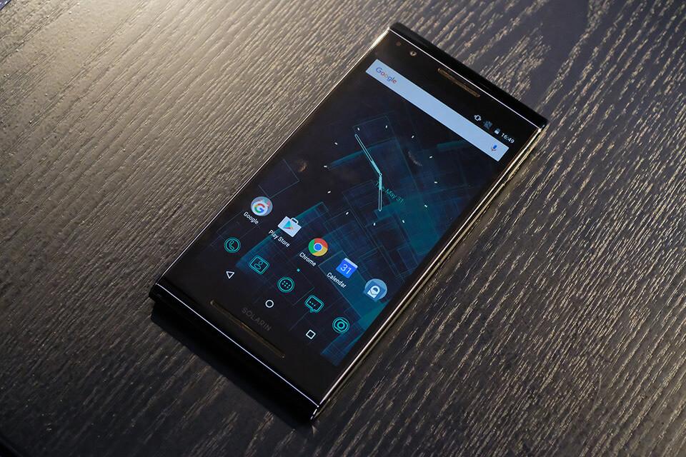 Sirin Labs Solarin Phone