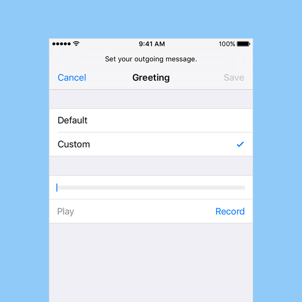 voicemail password for iphone