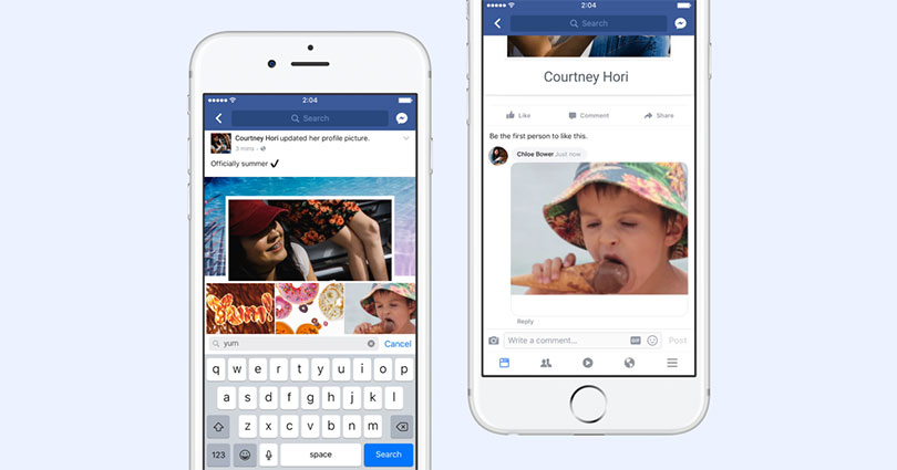 you can finally add gifs to facebook comments here s how