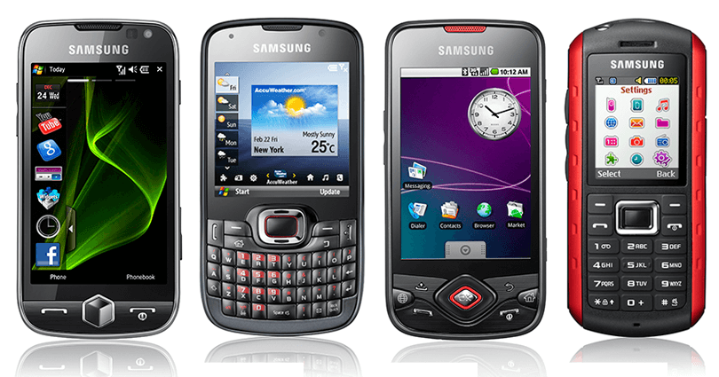 How many of these 10 retro Samsung mobiles can you remember?