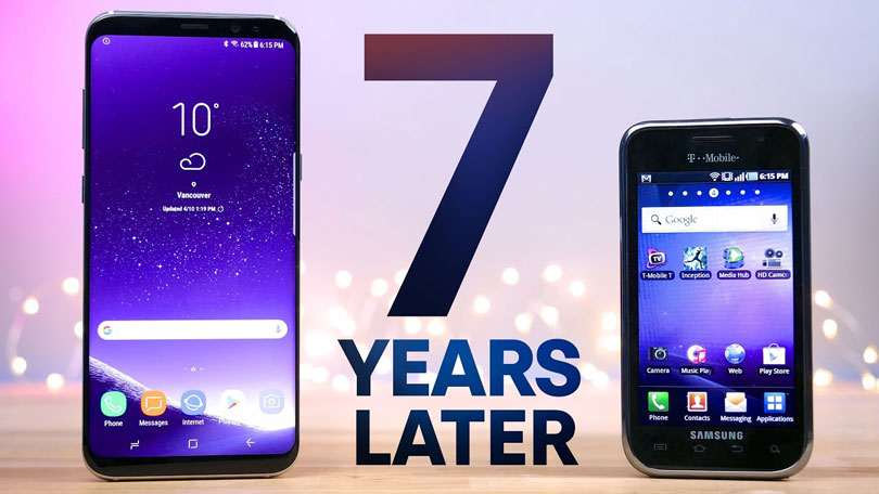 Watch The Incredible Evolution Of Samsung Galaxy S To Galaxy S8